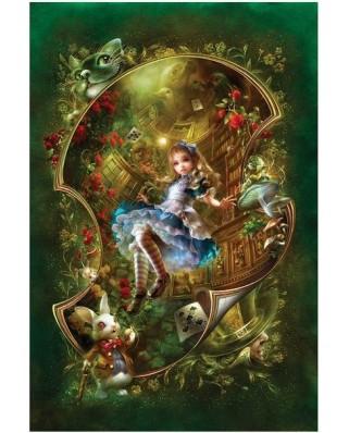 Puzzle Master Pieces - Alice in Wonderland, 1.000 piese (Master-Pieces-71143)
