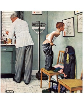 Puzzle Master Pieces - At the doctor, 1.000 piese (Master-Pieces-71369)