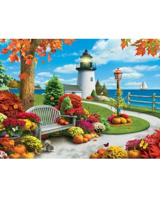 Puzzle Master Pieces - Autumn Sail, 750 piese (Master-Pieces-31576)