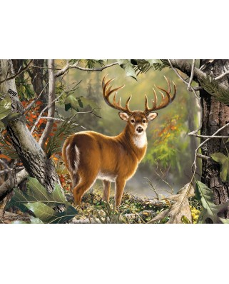 Puzzle Master Pieces - Backcountry Buck, 1.000 piese (Master-Pieces-71751)