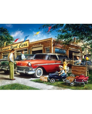 Puzzle Master Pieces - Bargain Used Cars, 1.000 piese (Master-Pieces-71249)