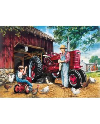 Puzzle Master Pieces - Barnyard Memories, 1.000 piese (Master-Pieces-71741)