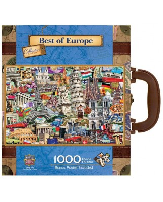 Puzzle Master Pieces - Best of Europe, 1.000 piese (Master-Pieces-71672)