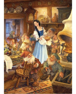 Puzzle Master Pieces - Blanche Neige and the 7 Dwarfs, 1.000 piese (Master-Pieces-71237)
