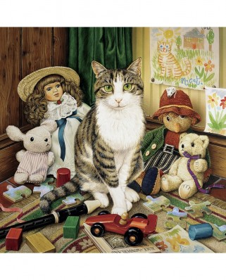 Puzzle Master Pieces - Cat-Ology - Pollyanna, 1.000 piese (Master-Pieces-71762)