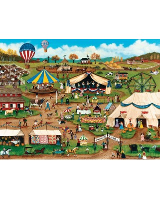 Puzzle Master Pieces - Country Fair, 750 piese (Master-Pieces-31803)