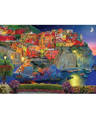 Puzzle Master Pieces - Evening Glow, 1.000 piese (Master-Pieces-71803)