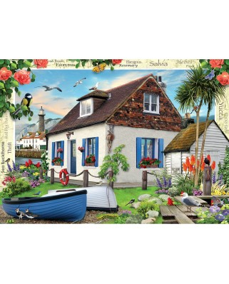 Puzzle Master Pieces - Fishermans Cottage, 1.000 piese (Master-Pieces-71758)
