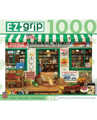 Puzzle Master Pieces - General Store, 1.000 piese XXL (Master-Pieces-71550)