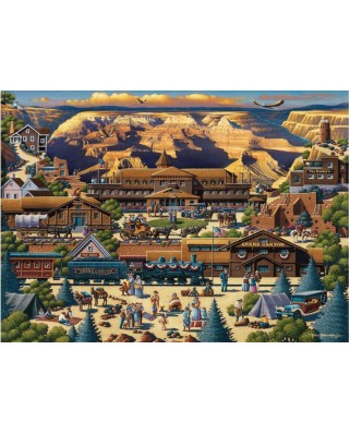 Puzzle Master Pieces - Grand Canyon, 1.000 piese (Master-Pieces-45118)
