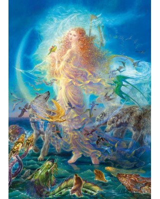 Puzzle Master Pieces - Kinuko Y. Craft: Rhiannon - Glitter, 1.000 piese (Master-Pieces-71565)