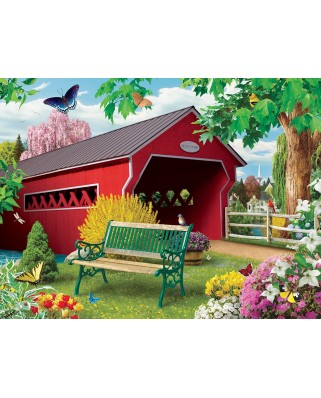 Puzzle Master Pieces - Lazy Days - Springtime, 750 piese (Master-Pieces-31815)
