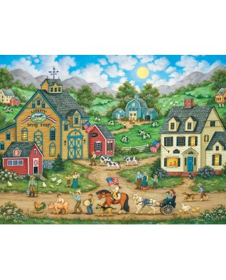 Puzzle Master Pieces - Liberty Farm Parade, 550 piese (Master-Pieces-31836)