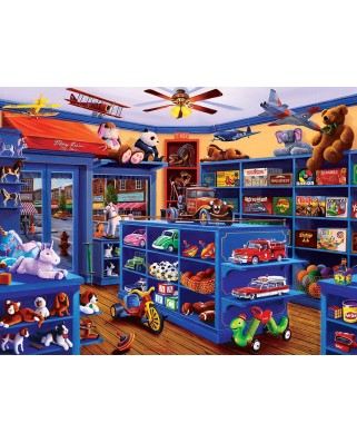 Puzzle Master Pieces - Mary Lee's Toy Store, 750 piese (Master-Pieces-31831)