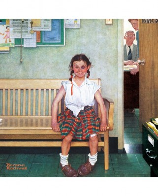 Puzzle Master Pieces - Norman Rockwell: The Shiner, 1.000 piese (Master-Pieces-71806)