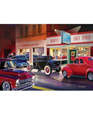 Puzzle Master Pieces - Phil's Diner, 1.000 piese (Master-Pieces-71514)