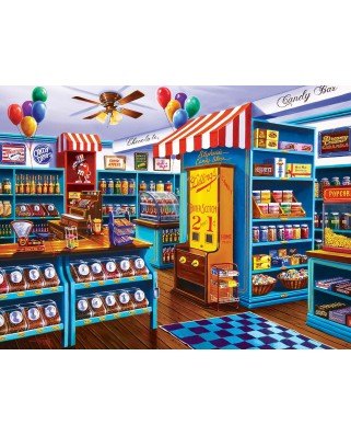 Puzzle Master Pieces - Stephanie's Candy Store, 750 piese (Master-Pieces-31830)