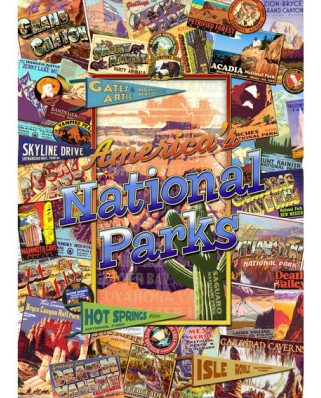 Puzzle Master Pieces - The National Parks, 1.000 piese (Master-Pieces-71132)