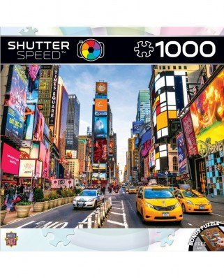 Puzzle Master Pieces - Times Square, New York, 1000 piese (Master-Pieces-71607)