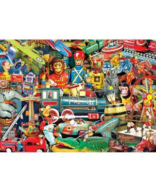 Puzzle Master Pieces - Toyland, 1.000 piese (Master-Pieces-71832)