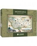 Puzzle Master Pieces - Xplorer Maps - Montana, 1.000 piese (Master-Pieces-71708)