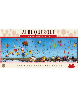 Puzzle panoramic Master Pieces - Albuquerque, New Mexico, 1.000 piese (Master-Pieces-71585)