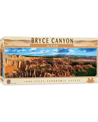 Puzzle panoramic Master Pieces - Bryce Canyon, Utah, 1.000 piese (Master-Pieces-71581)
