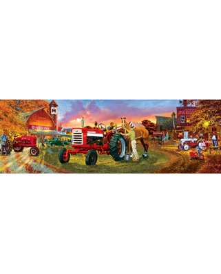 Puzzle panoramic Master Pieces - Farmall, 1.000 piese (Master-Pieces-71746)