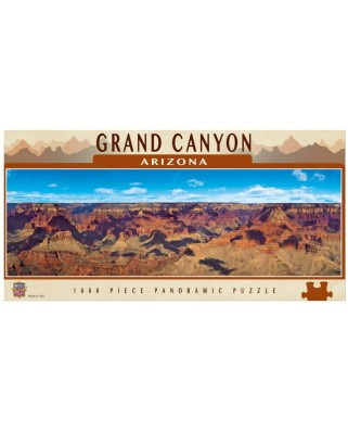 Puzzle panoramic Master Pieces - Grand Canyon, Arizona, 1.000 piese (Master-Pieces-71582)
