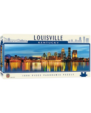 Puzzle panoramic Master Pieces - Louisville, Kentucky, 1.000 piese (Master-Pieces-71725)