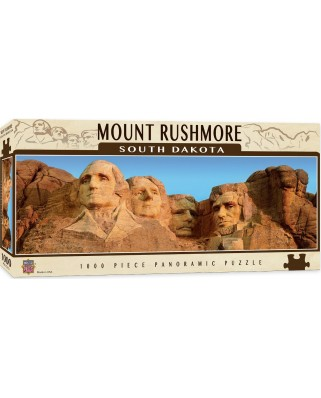 Puzzle panoramic Master Pieces - Mount Rushmore, South Dakota, 1.000 piese (Master-Pieces-71583)