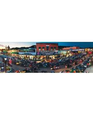 Puzzle panoramic Master Pieces - Sturgis, South Dakota, 1.000 piese (Master-Pieces-71726)