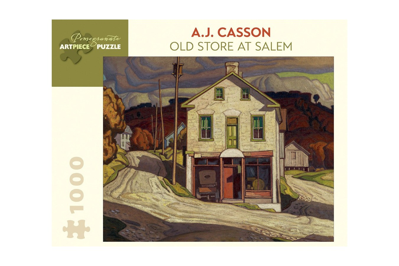 Puzzle Pomegranate - A. J. Casson: Old Store at Salem, 1931, 1.000 piese (AA848)