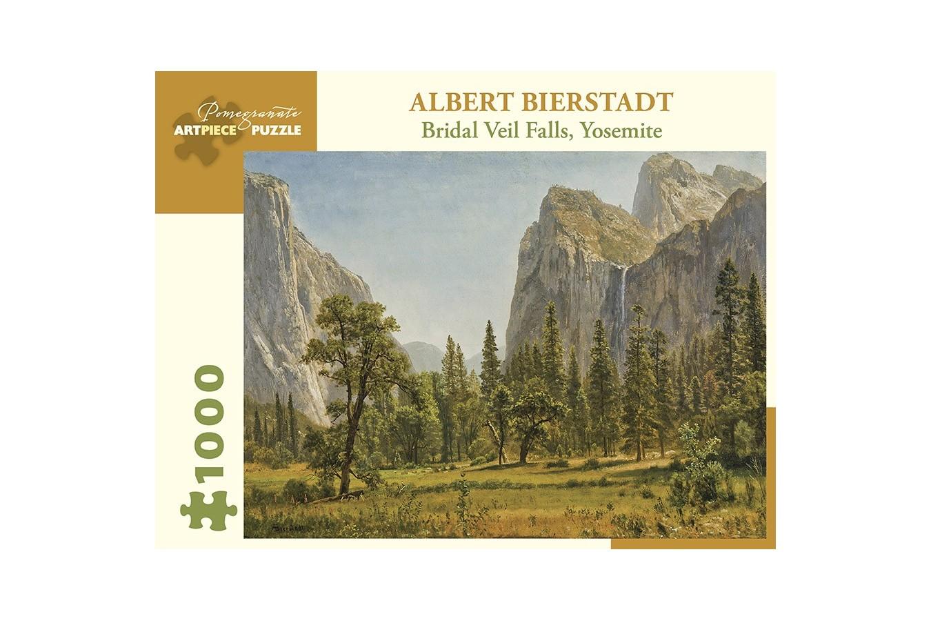 Puzzle Pomegranate - Albert Bierstadt: Bridal Veil Falls, Yosemite Valley, California, 1.000 piese (AA1029)