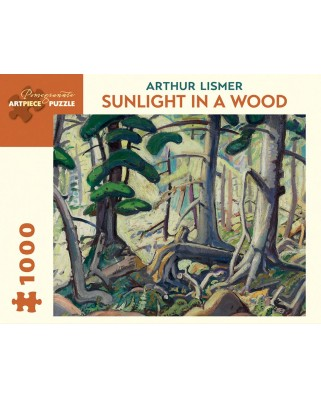 Puzzle Pomegranate - Arthur Lismer: Sunlight in a Wood, 1930, 1.000 piese (AA847)