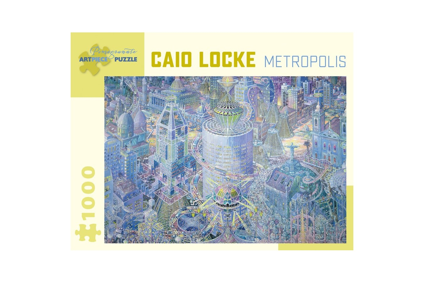 Puzzle Pomegranate - Caio Locke: Metropolis, 1.000 piese (AA1025)