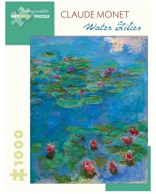 Puzzle Pomegranate - Claude Monet: Water Lilies, 1.000 piese (AA1035)