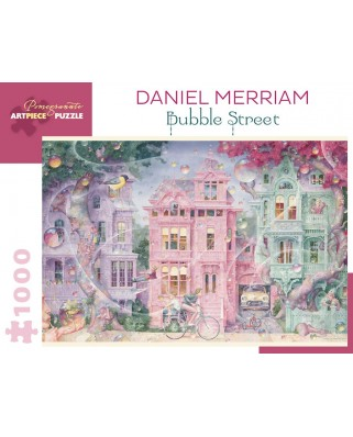 Puzzle Pomegranate - Daniel Merriam: Bubble Street, 1994, 1.000 piese (AA977)