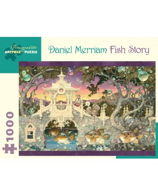 Puzzle Pomegranate - Daniel Merriam: Fish Story, 2005, 1.000 piese (AA990)