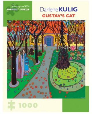 Puzzle Pomegranate - Darlene Kulig: Gustav's Cat, 2015, 1.000 piese (AA1039)