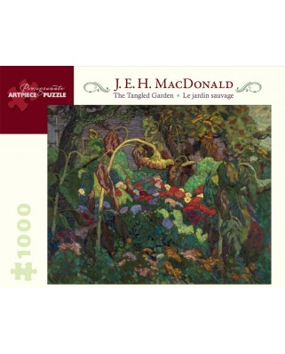 Puzzle Pomegranate - E. H. MacDonald: The Tangled Garden, 1.000 piese (AA824)