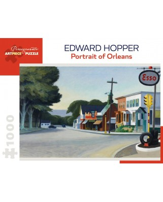 Puzzle Pomegranate - Edward Hopper: Portrait of Orleans, 1950, 1.000 piese (AA1002)