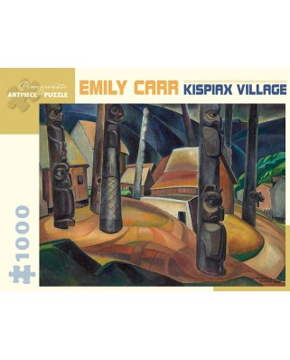 Puzzle Pomegranate - Emily Carr: Kispiax Village, 1929, 1.000 piese (AA925)
