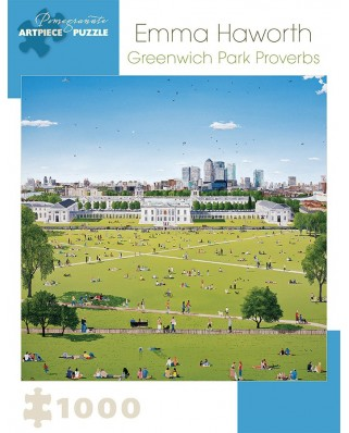 Puzzle Pomegranate - Emma Haworth: Greenwich Park Proverbs, 2008, 1.000 piese (AA921)