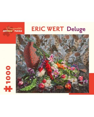 Puzzle Pomegranate - Eric Wert: Deluge, 2010, 1.000 piese (AA981)