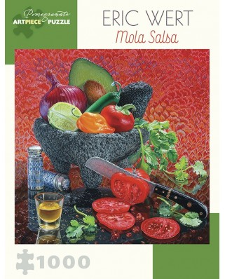 Puzzle Pomegranate - Eric Wert: Mola Salsa, 1.000 piese (AA1031)