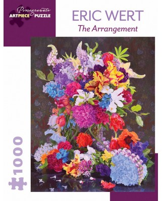 Puzzle Pomegranate - Eric Wert: The Arrangement, 2015, 1.000 piese (AA1009)