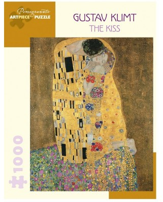 Puzzle Pomegranate - Gustav Klimt: The Kiss, 1.000 piese (AA1036)