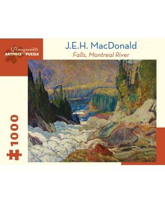 Puzzle Pomegranate - J.E.H. MacDonald: Falls, Montreal River, 1920, 1.000 piese (AA1012)