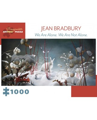 Puzzle Pomegranate - Jean Bradbury: We Are Alone. We Are Not Alone., 2010, 1.000 piese (AA979)